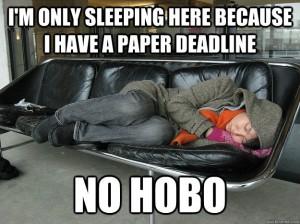 Grad student life