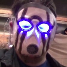 Jim in a Psycho Mask