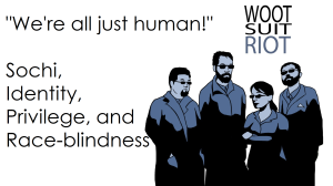 """We're all just human!"""