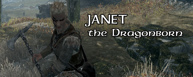Janet, the Dragonborn